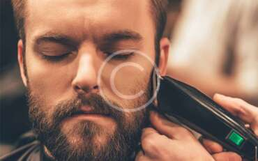 Facial hair care and trimming at home