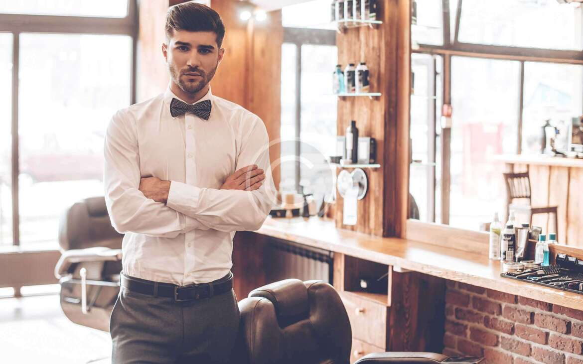 Sharp looks by professional barbers